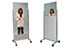 Clear-Lead™ Mobile X-Ray Barriers - BIODEX 042-580 & 042-582