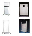 Leaded Glass Barriers & Glass Panels