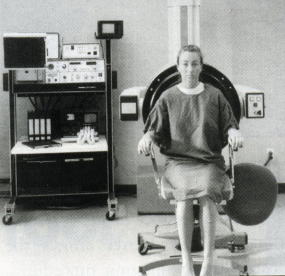 Imaging Chair in use