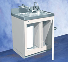 Nuclear Medicine Lead Lined Sink And Waste Cabinet Sold By
