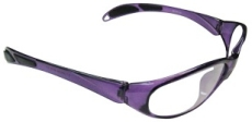 Neon Lites Economy Glasses Purple