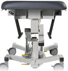 Echo Pro Echocardiology Table Biodex 058-700 (115v) / 058-705 (230v) Optional Foot Support